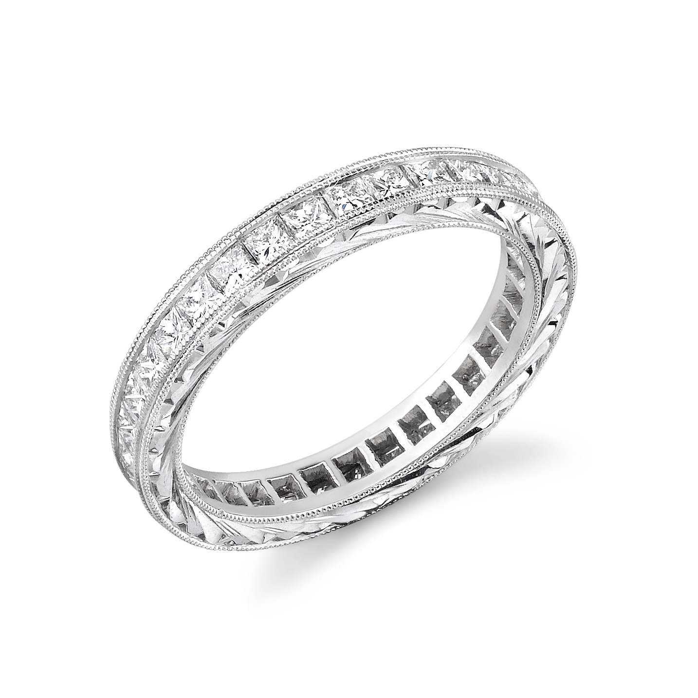 Princess Diamond Eternity Band